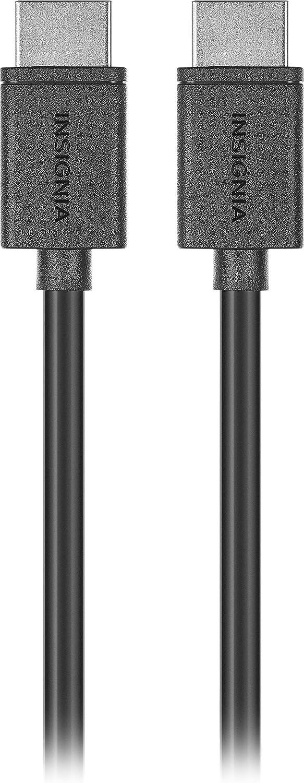 Insignia - 4' 4K Ultra HD HDMI Cable - Black