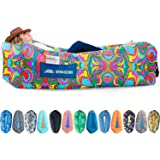 Chillbo Shwaggins Inflatable Couch – Cool Inflatable Chair. Upgrade Your Camping Accessories. Easy Setup is Perfect for Hikin