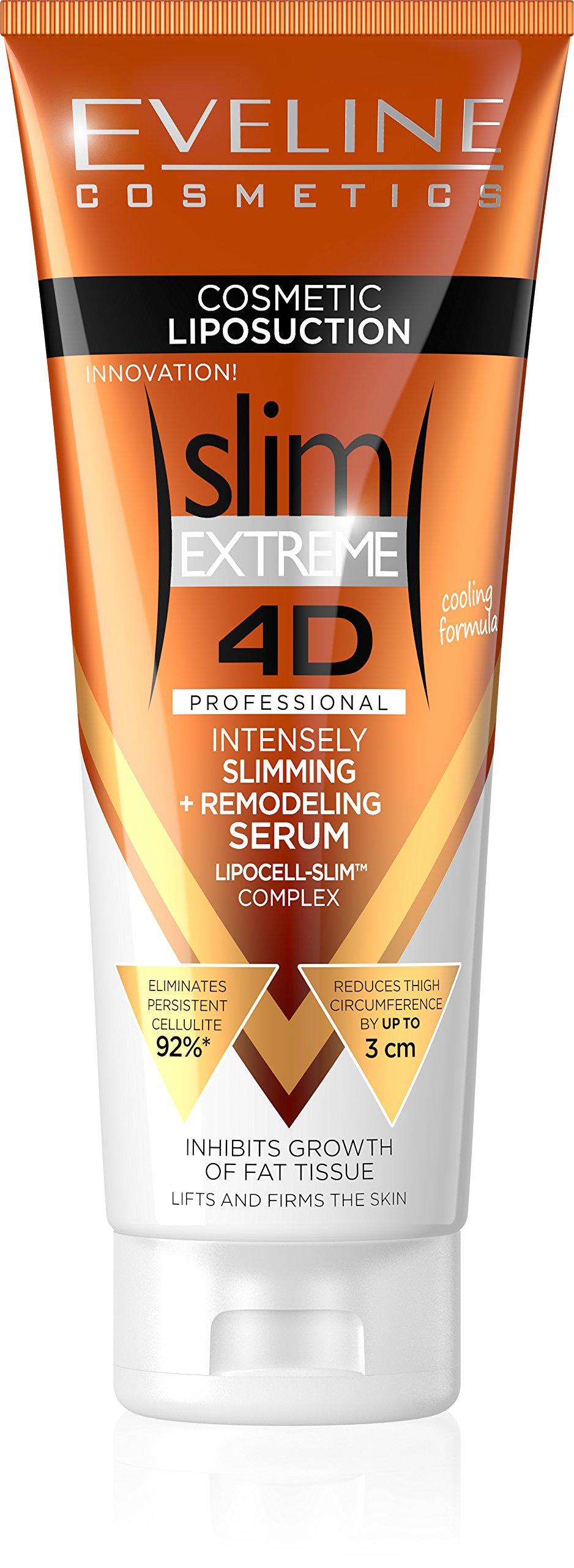 Eveline Slim Extreme 4D Liposuction Body Serum, 8.45 Fluid Ounce