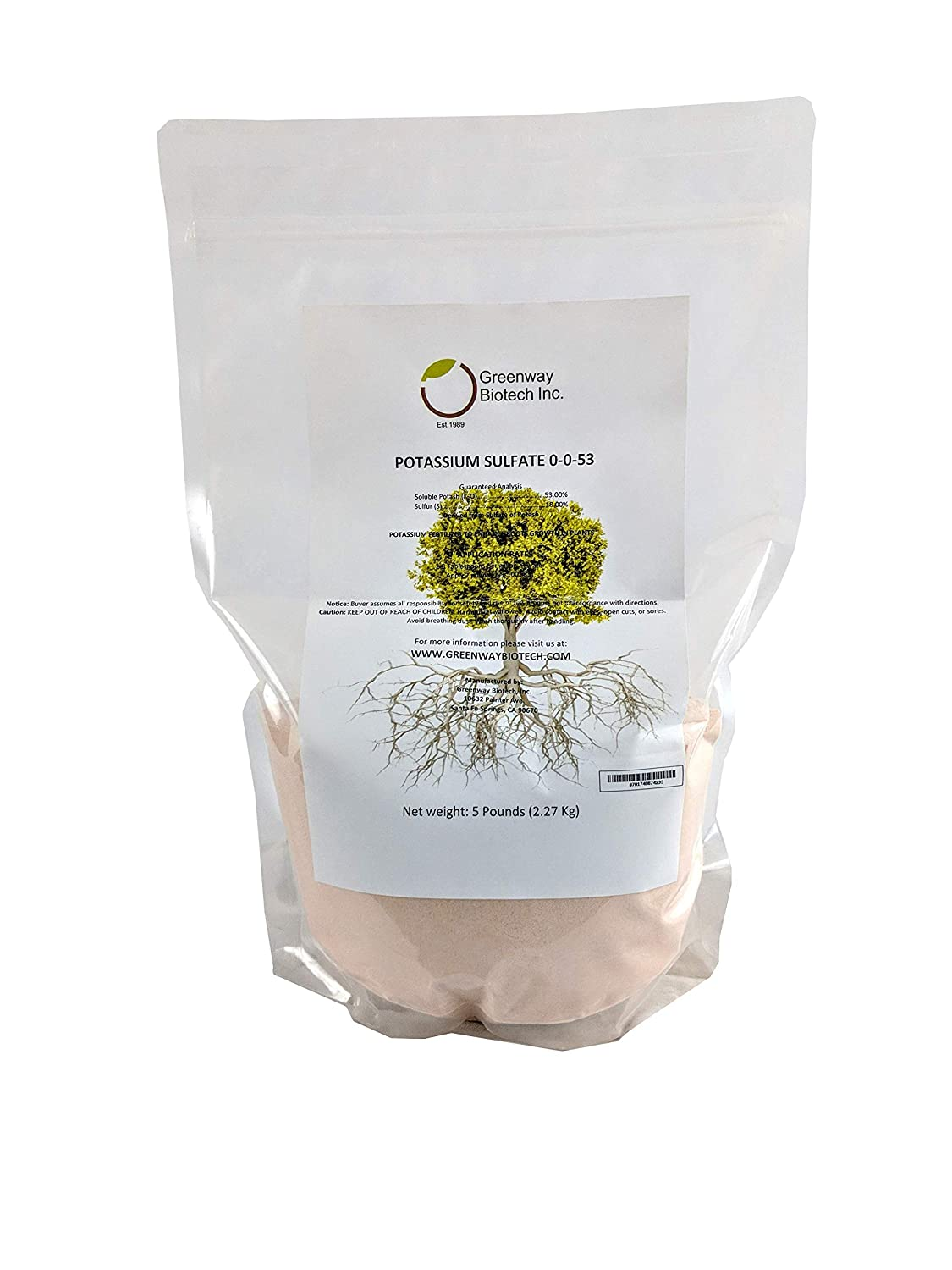 The best friend of gardeners is potassium sulphate (application and product characteristics)