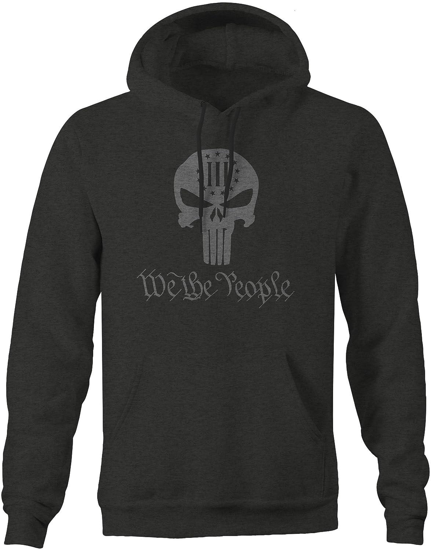 M22 We The People Punisher Skull Constitutional 3/% Freedom Sweatshirt