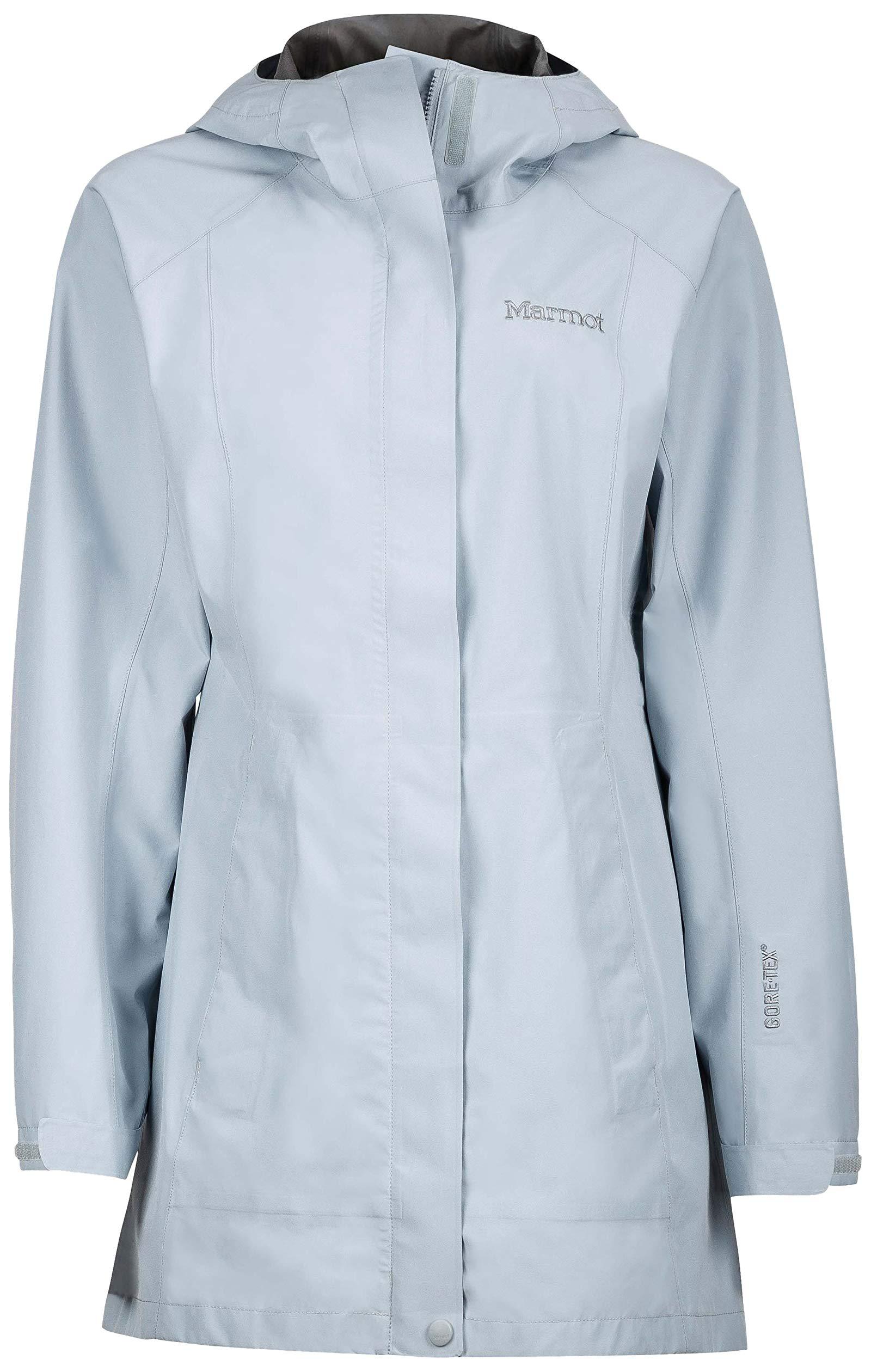 Marmot Essential Women's Lightweight Waterproof Rain Jacket, GORE-TEX with PACLITE Technology, Silver by Marmot
