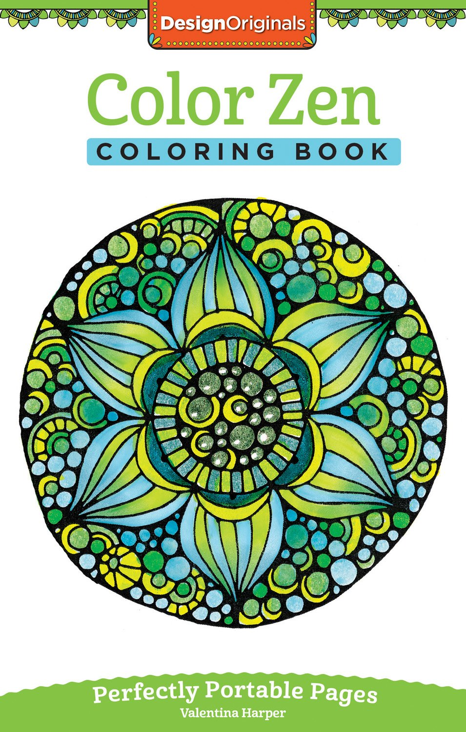 Amazon.com: Color Zen Coloring Book: Perfectly Portable Pages (On ...