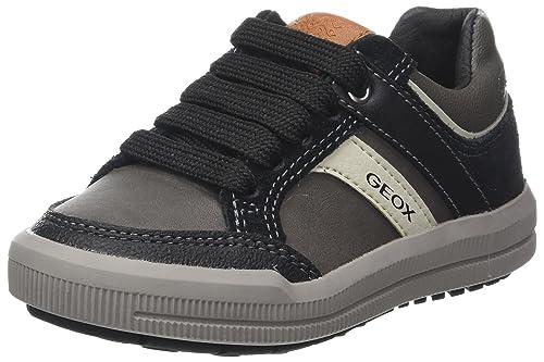 Geox J Arzach a, Zapatillas para Niños, Azul (Navy/Grey), 40 EU