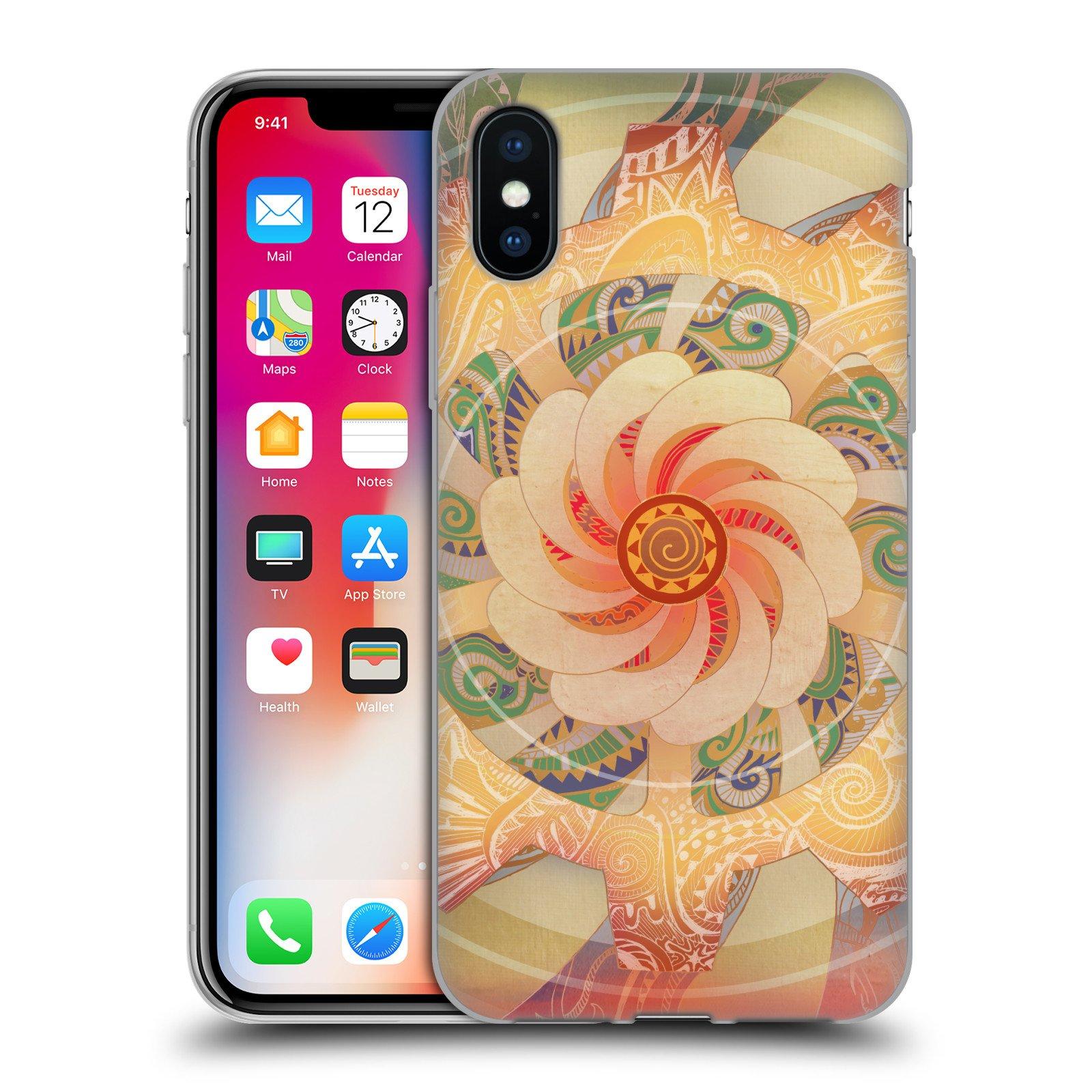Official Brenda Erickson Solar Plexis Chakras Soft Gel Case for Apple iPhone X