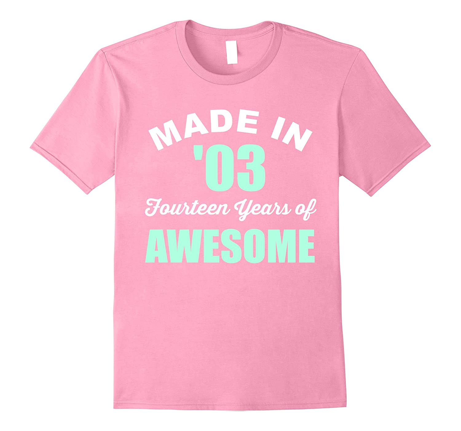 Birthday Girl Gifts 14 Year Old Made In 2003 Fun T Shirt ANZ