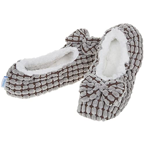8e1bfa08c67 Ladies Snoozies Chic-Lets Ballet Slippers with Memory Foam Sole ~ 3 Sizes    6