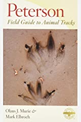 Peterson Field Guide to Animal Tracks: Third Edition (Peterson Field Guides) Paperback