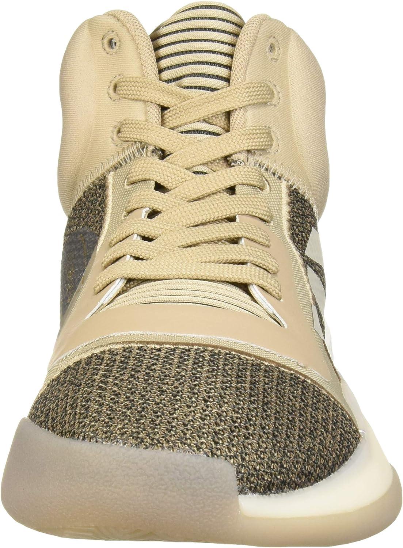 adidas Herren Marquee Boost Low, Multi Trace Khaki Light Brown Black
