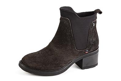 Wrangler Damen Vail Komfort Chelsea Boots Schwarz Gr. 37