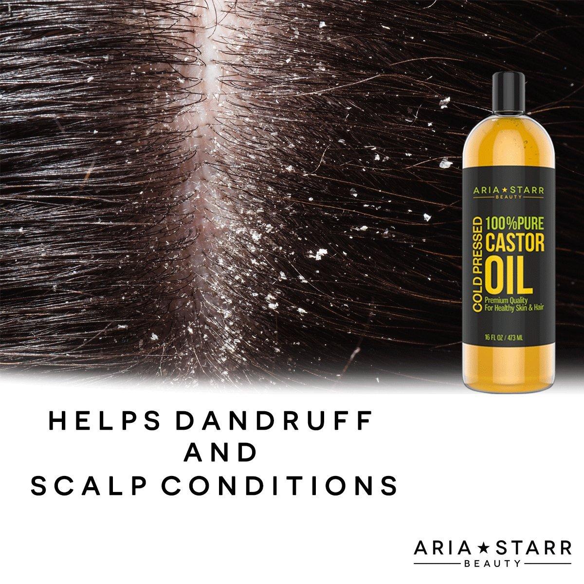 Castor oil for gray hair
