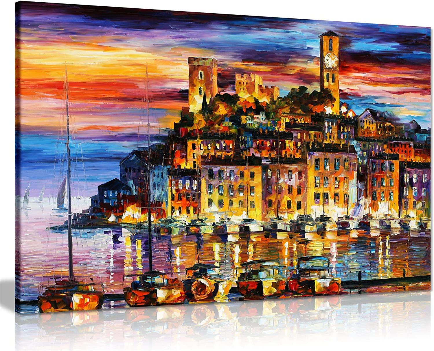 Panther Print Canvas Print, 61x41 cm (24x16in), Cannes France