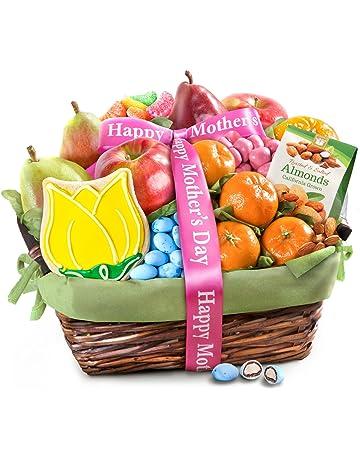 Golden State Fruit Mother's Day Fruit & Treats Gift Basket