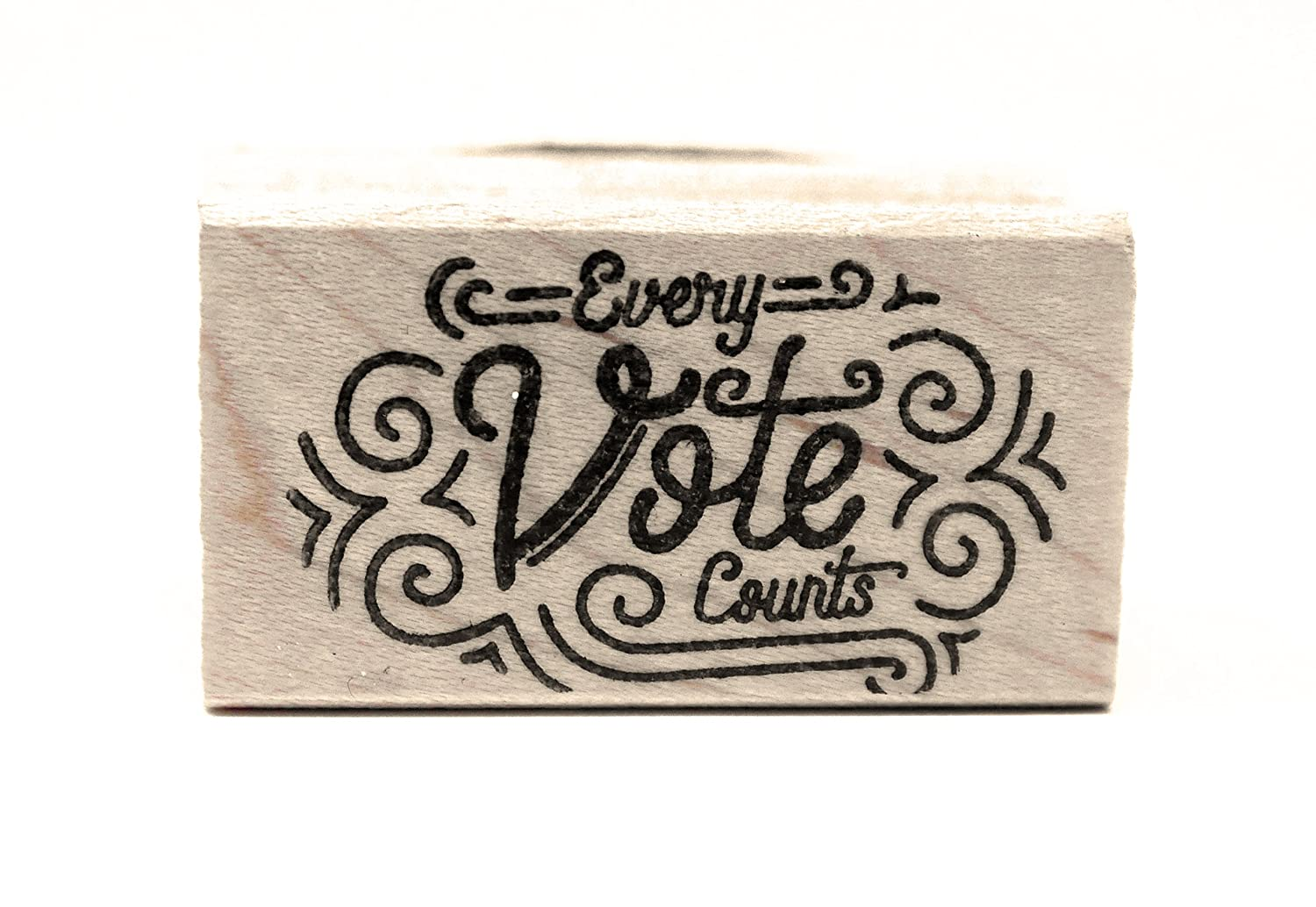 Every Vote Counts! Rubber Stamps for Your Postcards and Scrapbooking, Perfect for Writing to Your reps or get Out The Vote Mary Likes Postcards 4336990038