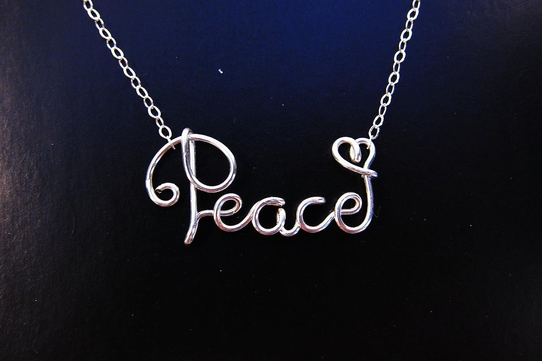 Trendy Jewelry Custom Word Necklace Personalized Cursive Name Wire Necklace Custom Jewelry