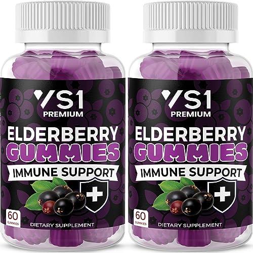 2-Pack Organic Elderberry Gummie