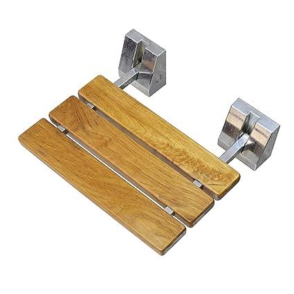 Diyhd Sd 15 Teak Wood Floding Seat Wall Mount Shower Bench