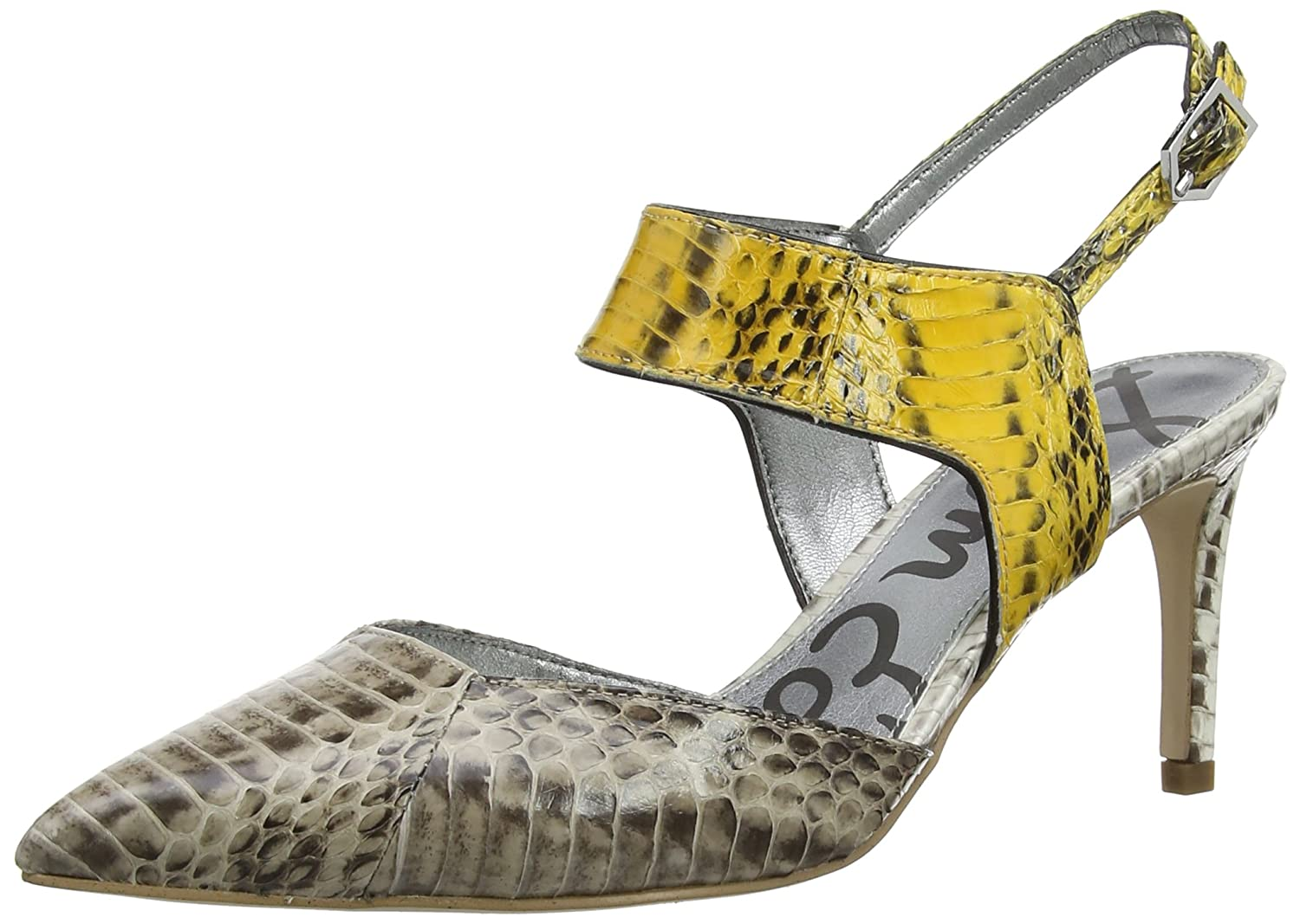 Sam Edelman Women's Ola Dress Pump, Bistro/Marigold, 7 M US: Buy Online at  Low Prices in India - Amazon.in