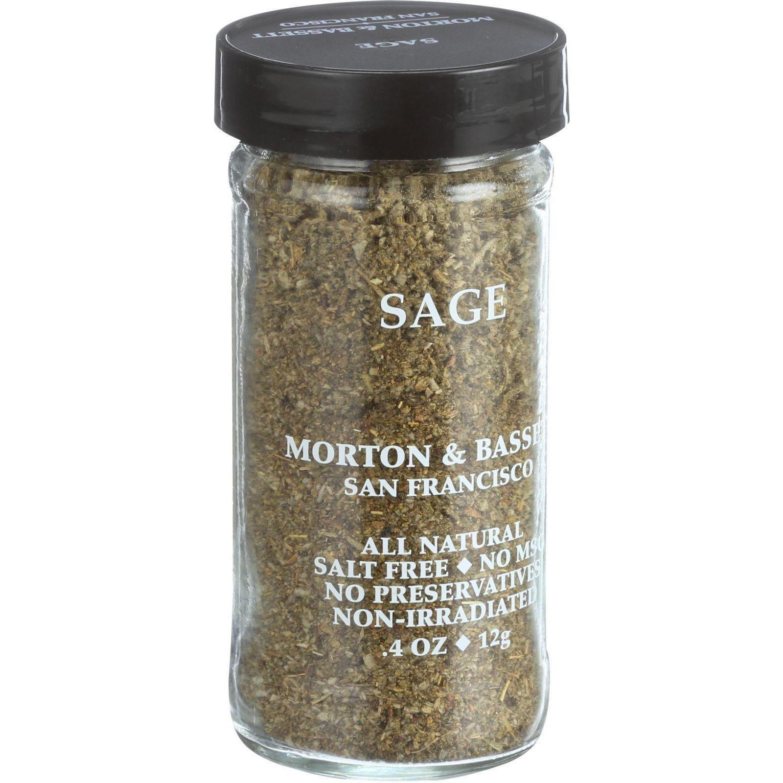 Morton & Bassett Sage, .4-Ounce Jars (Pack of 3)