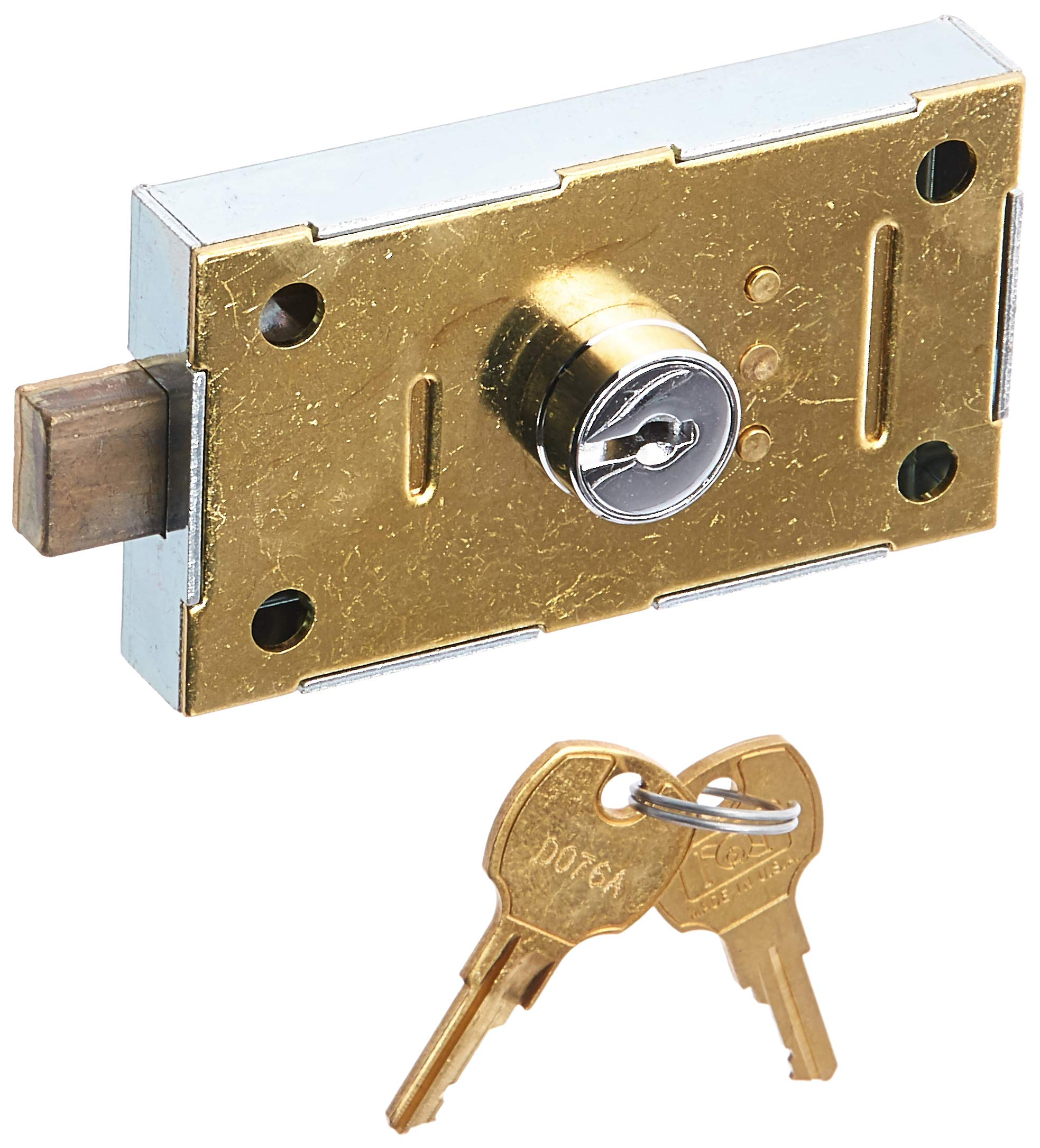 Salsbury Industries 2275 Replacement Commercial Lock for Private Access of Aluminum Parcel Locker with 2 Keys