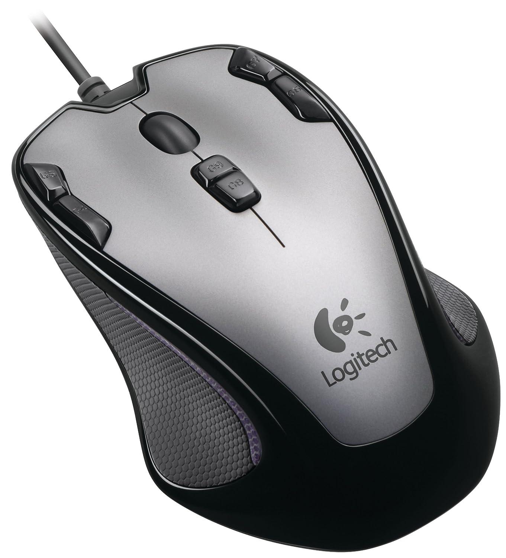 Logitech G300 Gaming Maus schnurgebunden grau schwarz Amazon puter & Zubehör