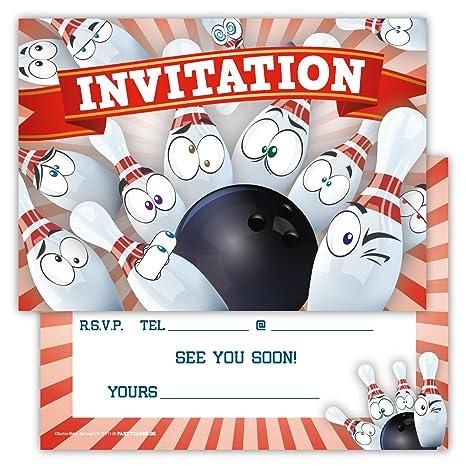 Funny Invitaciones Conjunto De 12 Tarjetas De Cumpleaños