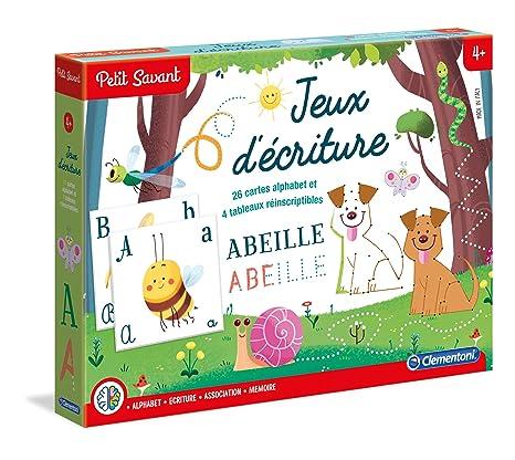 3dcf3cabe9 Clementoni - Giochi Di Scrittura - Da 5 A 7 Anni, in Francese ...