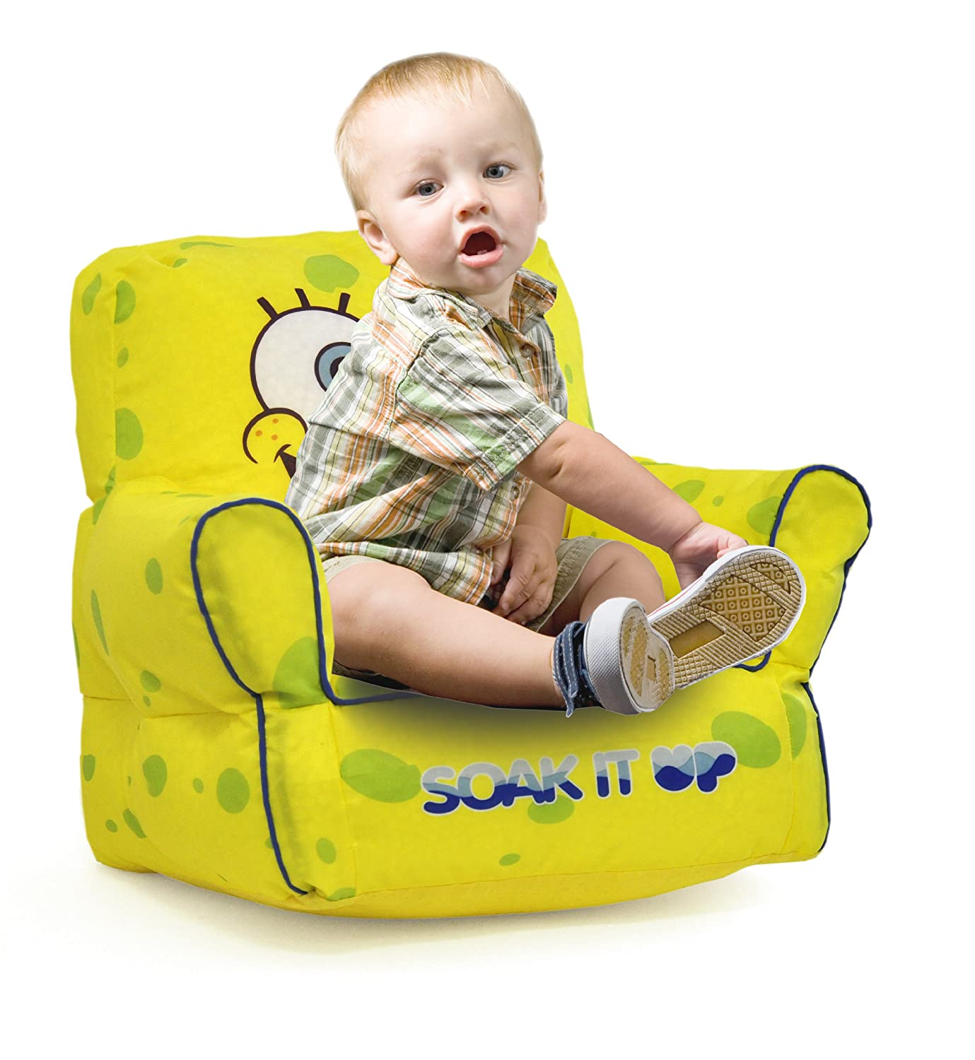 Amazon Nickelodeon Spongebob Squarepants Bean Bag Sofa Chair