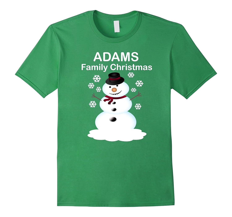Family Christmas Shirts.Adams Family Christmas Personalized Family Christmas Shirts Anz