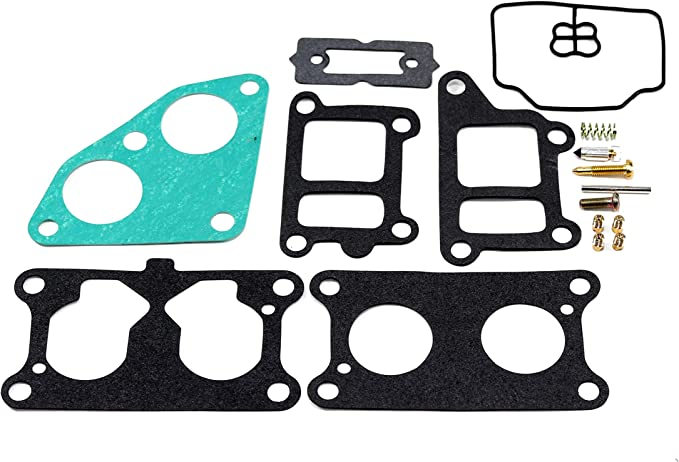 Carburetor Rebuild Kit For Kawasaki Mule Gas Carb w// Intake Manifold Gasket