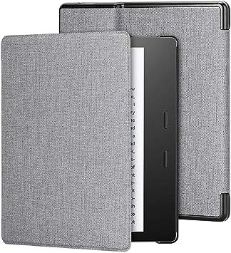 Foluu - Funda para Kindle Oasis (9ª y 10ª generación, Lanzamiento 2017 y 2019), Funda de Piel sintética Inteligente, Delgada, Ligera, con Cierre magnético: Amazon.es: Electrónica