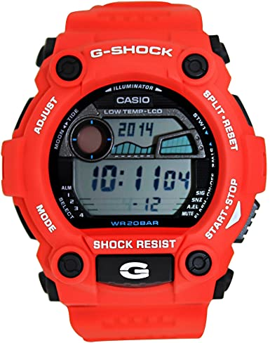 Casio Mens G-Shock G7900A-4 Red Resin Quartz Sport Watch