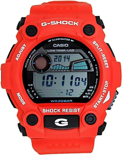 Casio Mens G-Shock G7900A-4 Red Resin Quartz Sport Watch