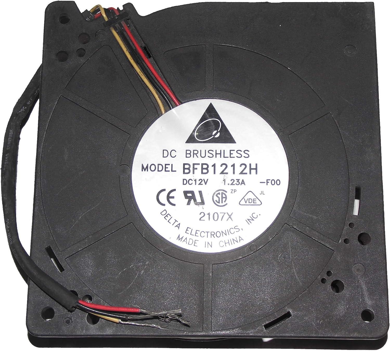 F00 37L6765 12V 1.23A 3Wire Case Fan Delta 12032 BFB1212H