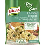 Knorr Rice Sides for a Delicious Easy Meal Cheddar Broccoli No Artificial Flavors 5.7 oz, Pack of 12