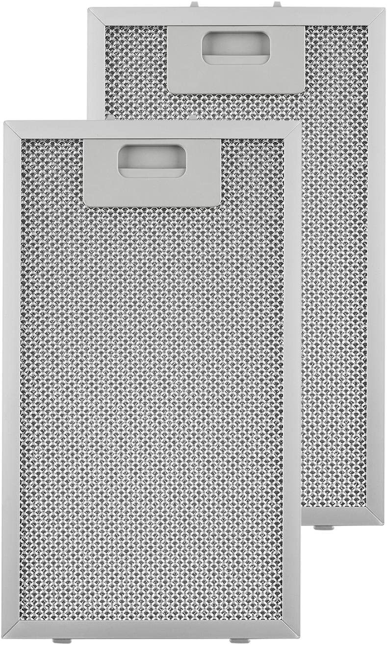 KLARSTEIN Repuesto de Filtro de Grasa de Aluminio - 18,5 x 31,8 cm, Adecuado para Campanas extractoras Lorea 60