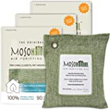MOSO NATURAL: The Original Air Purifying Bag. for Cars, Closets, Bathrooms, Pet Areas. an Unscented, Chemical-Free Odor…