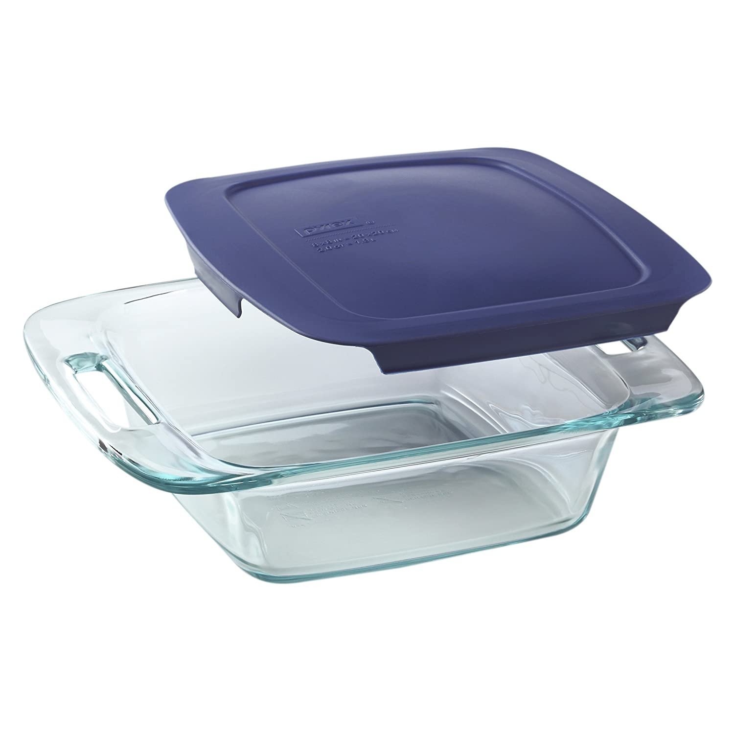 Amazon.com: Pyrex Easy Grab 8 Piece Glass Bakeware And Food Storage Set:  Bake And Serve Sets: Kitchen U0026 Dining