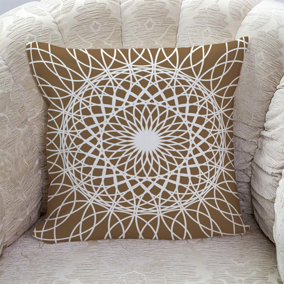 Amazon.com: T&H Home Comfortable Throw Pillow Cover for ...