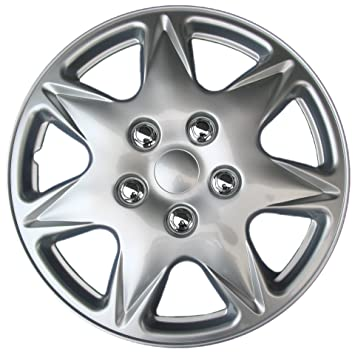 Drive Accessories KT915-17S/L ABS Silver 17 Plastic Wheel ...