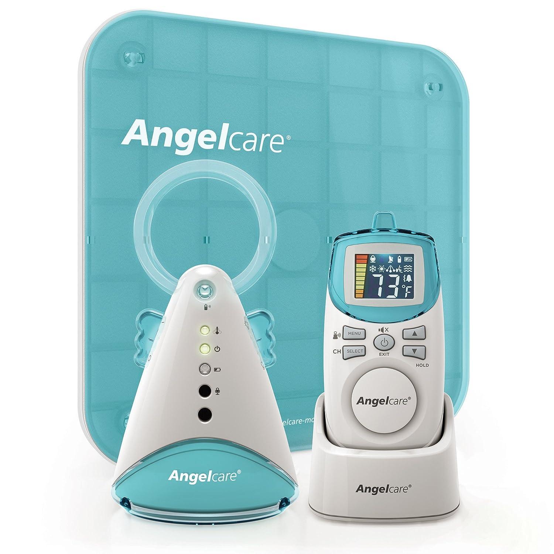 Amazon.com : Angelcare Movement and Sound Monitor, Aqua/White ...