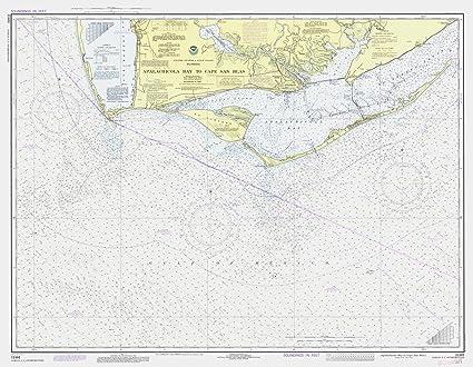Amazon.com: Map | Apalachicola Bay To Cape San Blas, 1979 ... on port st. joe map, sarasota map, naples map, port saint joe fl map, rosemary beach map, false cape map, forgotten coast florida map, key biscayne map, new york city map, boca raton map, indian rocks beach map, pensacola map, apalachicola map, hudson florida map, anna maria island map, st augustine map, perdido key map, san blas florida map, fort walton beach map, tarpon springs map,