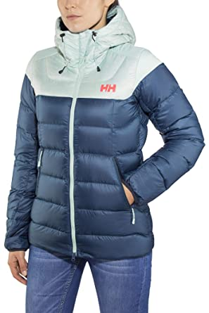 cc432adbc Helly Hansen Vanir Glacier Women's Down Jacket - AW18 Blue: Amazon ...