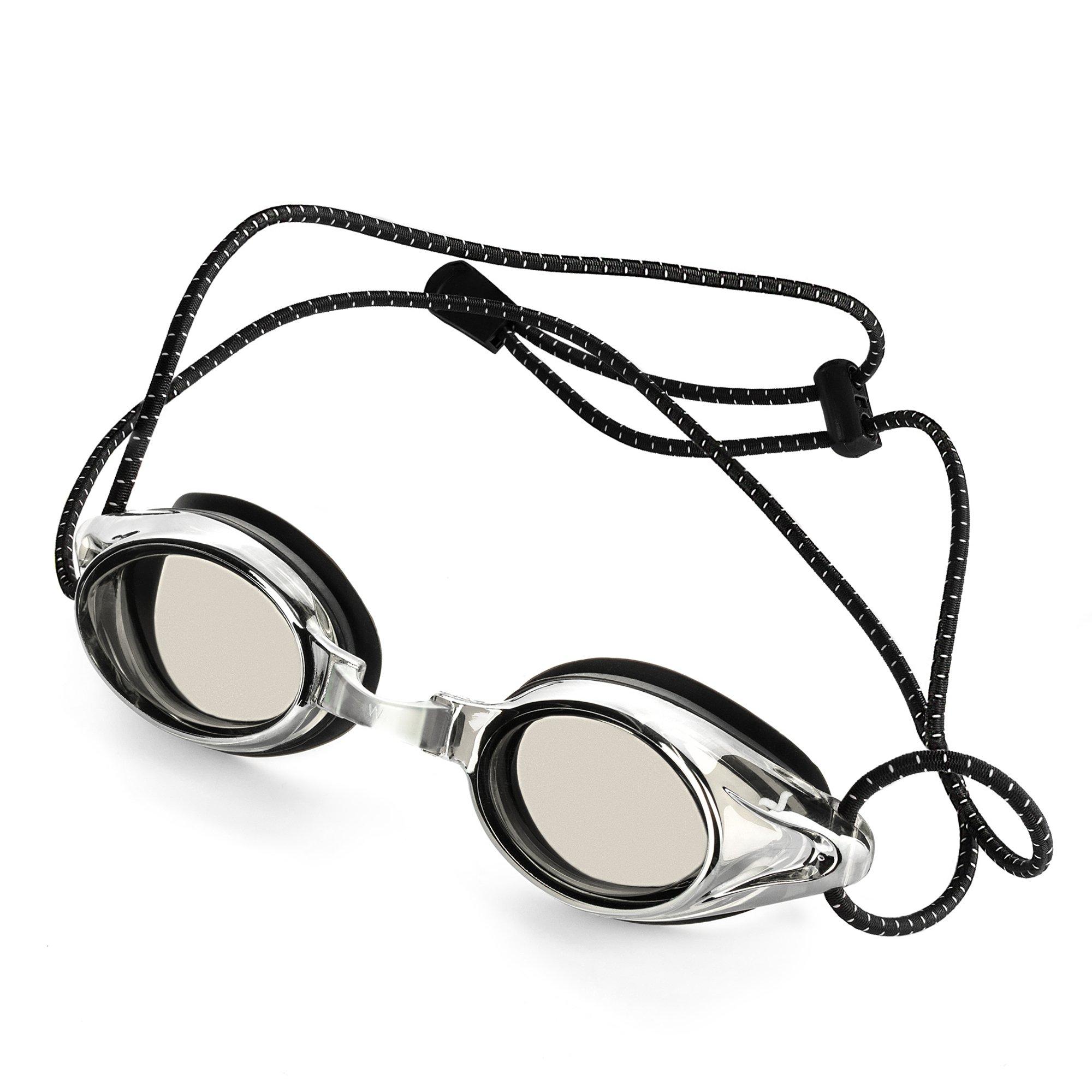 Proswims Anti-Fog Racing Swimming Goggles Gray Lens