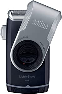 Braun Mobile Shave M90 Portable Electric Shaver Razor for Men's, Good for Travel