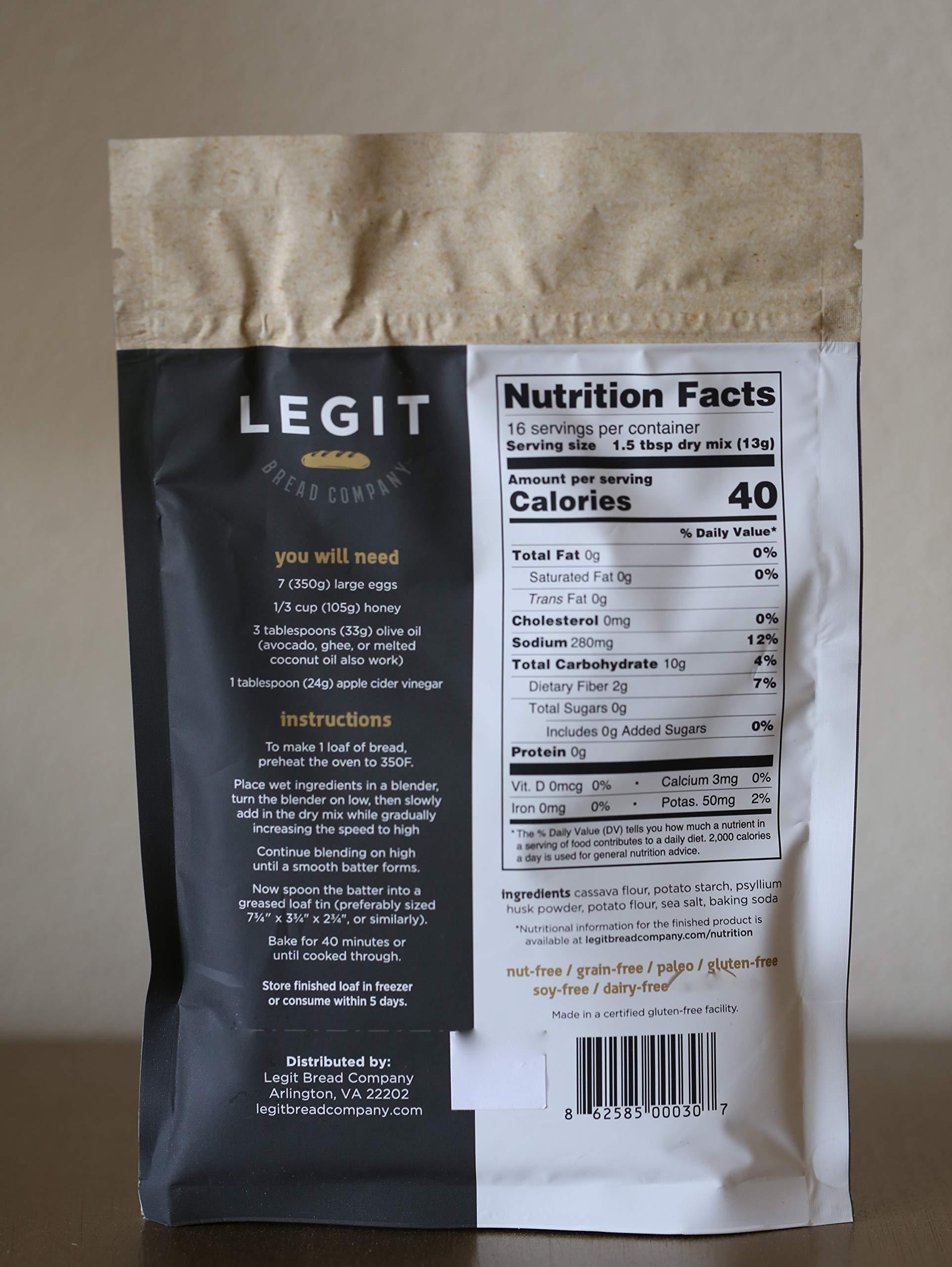Legit Bread Mix - Original, 2 Pack