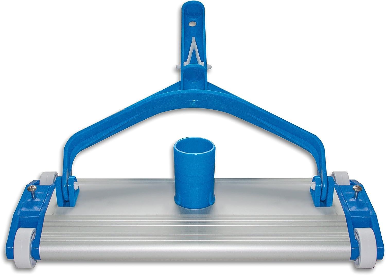 Productos QP 500340C - Limpiafondos metálico, fijación Clip, 335 mm