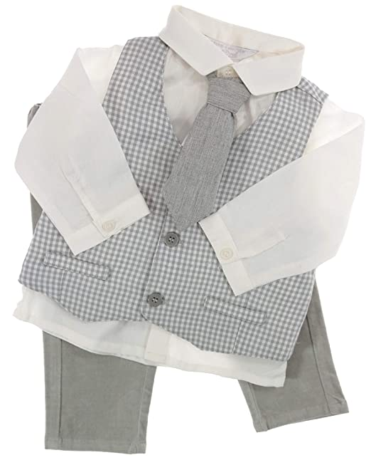 Mayoral - Traje - para bebé Blanco-Gris 80 cm: Amazon.es ...