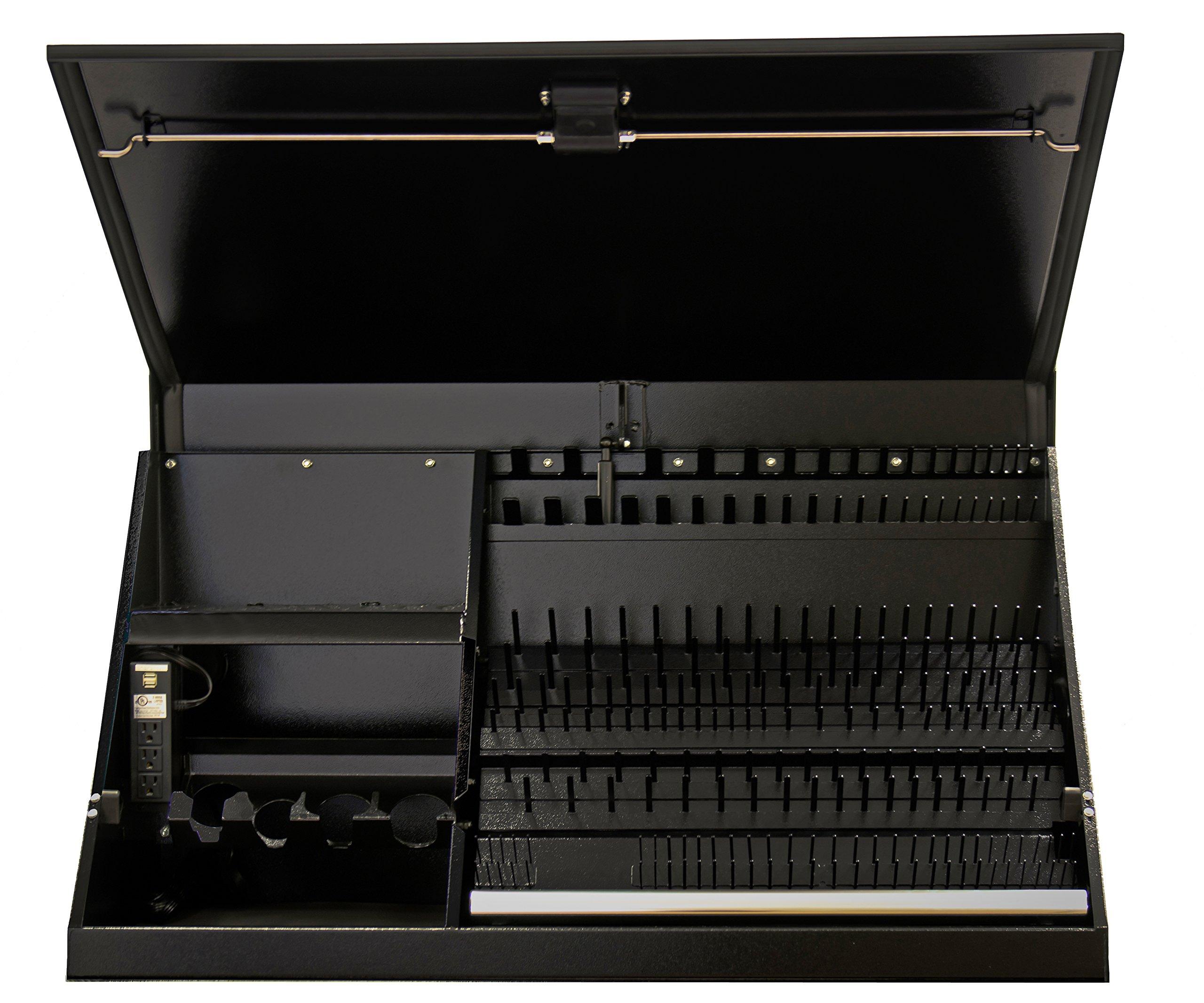 Extreme Tool PWS4100TXBK Black Textured PWS Series Extreme Portable Workstation, 41''