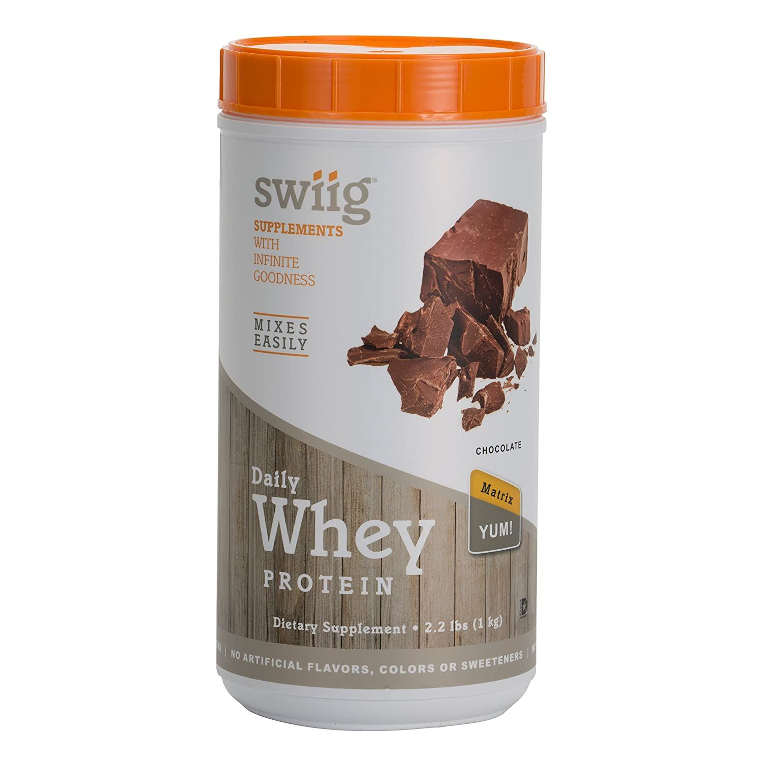 swiig Daily Whey Protein Matrix Chocolate 2.2lbs